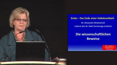 Dr Alexandra Niedzwiecki  Krebs Das Ende Einer Volkskrankheit